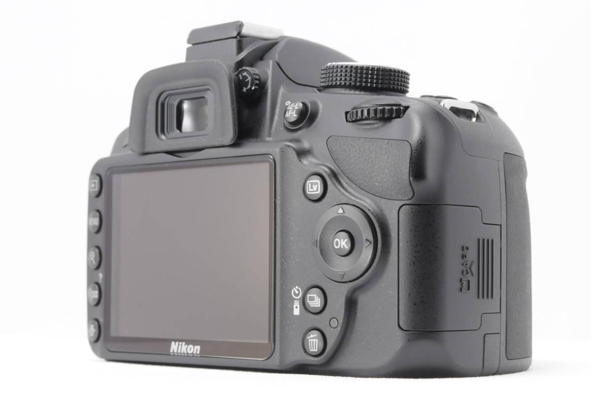 ■ほぼ新品■ニコン Nikon D3200 レンズ2本セット 《32GB SDカード・付属品多数》 #0167J31_画像6