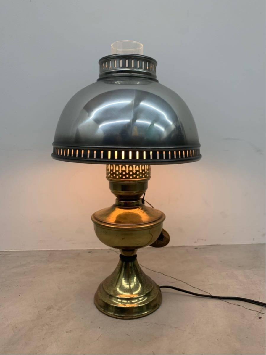 ヴィンテージ スタンドライト オイルランプ kayess lamp ニューヨーク アンティーク インダストリアル
