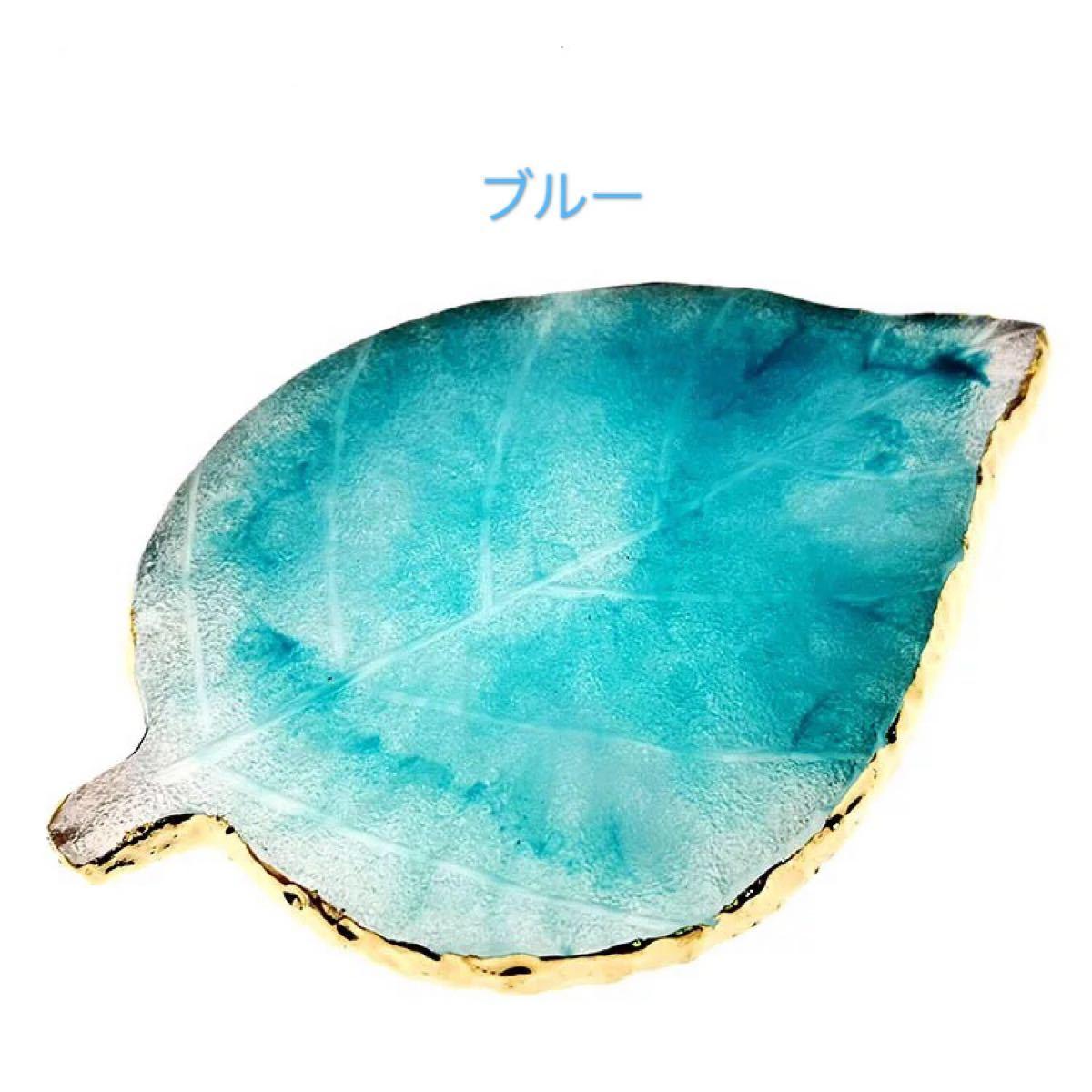 インスタ映え大理石風リーフ型ネイルアートパレット 6色