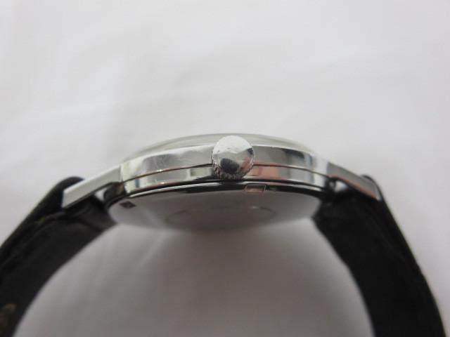 BULOVA WATER PROOF ブローバ メンズ腕時計 手巻き 3針/文字盤 ホワイトパール系 スイス製 ジャンク m16-10y_画像3