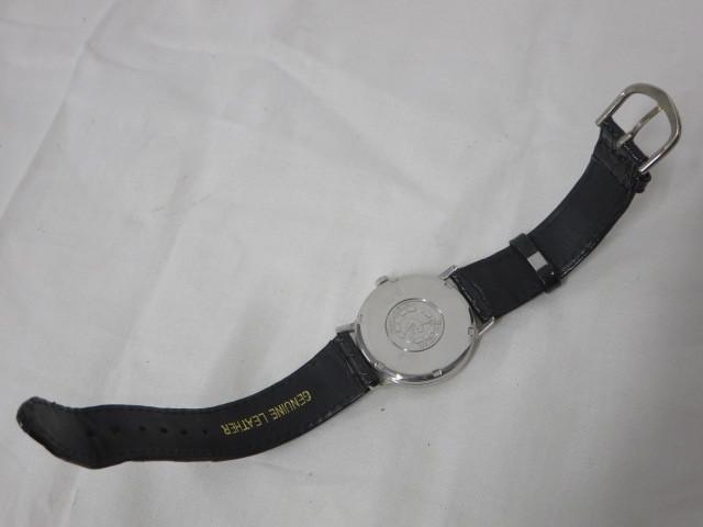 BULOVA WATER PROOF ブローバ メンズ腕時計 手巻き 3針/文字盤 ホワイトパール系 スイス製 ジャンク m16-10y_画像6