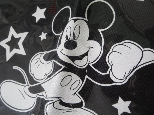 ミッキーマウス トートバッグ 黒 39.5×35cm_画像2