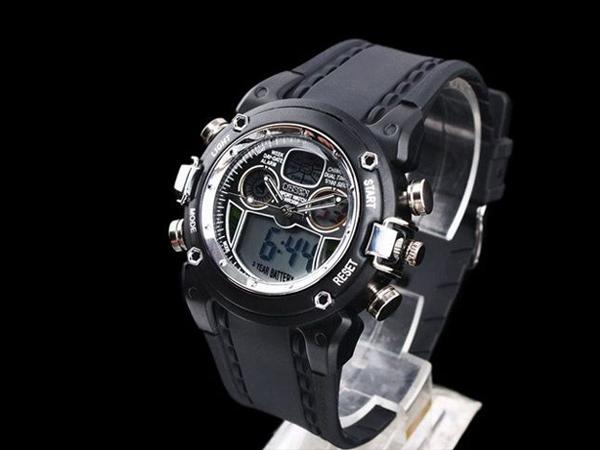 5 1 デジタル腕時計 新品★高級 ファッション タイムウォッチ付 デジタル 限定品 ビンテージ ミリタリー 防水 メンズ_画像2