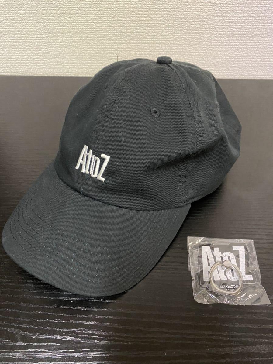 【送料無料】【未使用】AKLO×ZORN AtoZ Tour 2018 キャップ スマホリング バンカーリング