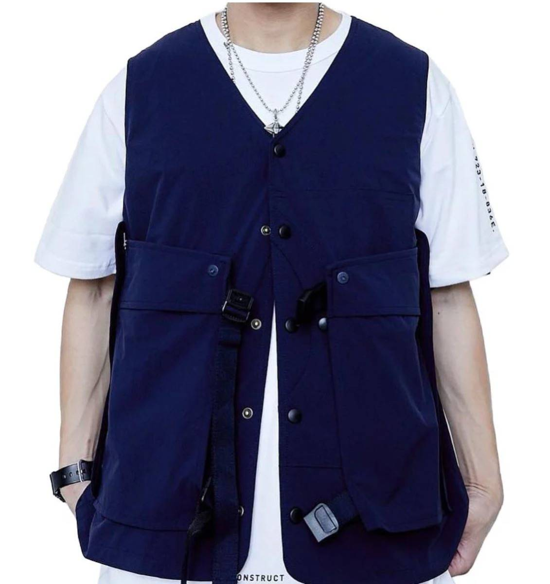 Oqliq Adhere vest ベスト XL Black - TAKIBI タキビ_画像7