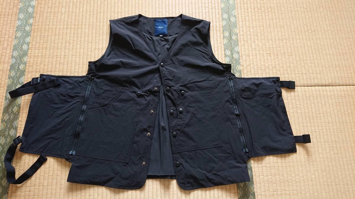 Oqliq Adhere vest ベスト XL Black - TAKIBI タキビ_画像2