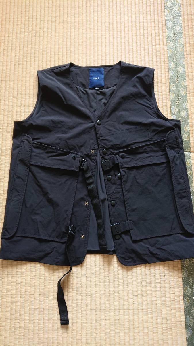 Oqliq Adhere vest ベスト XL Black - TAKIBI タキビ_画像1