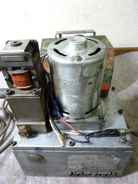 ◆西田製作所/電動油圧ポンプNC-E700A◆_画像5