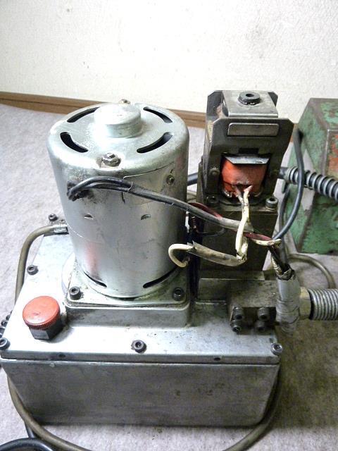 ◆西田製作所/電動油圧ポンプNC-E700A◆_画像7