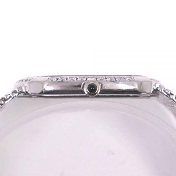 セイコー クレドール ダイヤベゼル 5930-5590 K18ホワイトゴールド クオーツ シルバー文字盤 腕時計 メンズ【20280102】_画像6