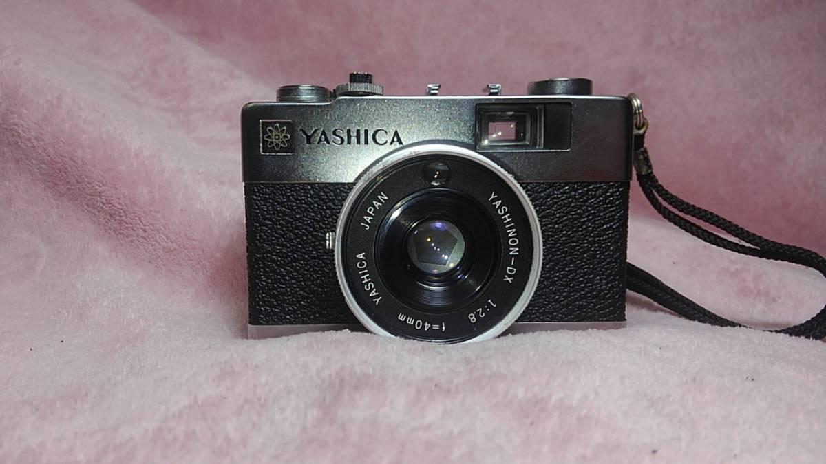 【YASHICA】 YASHINON-DX ELECTRO35 MC フィルムカメラ ヤシカ エレクトロ ジャンク 【19/11 C-3 m】_画像2