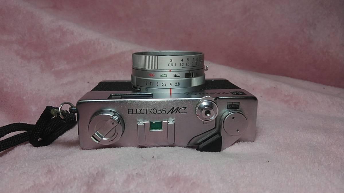 【YASHICA】 YASHINON-DX ELECTRO35 MC フィルムカメラ ヤシカ エレクトロ ジャンク 【19/11 C-3 m】_画像4