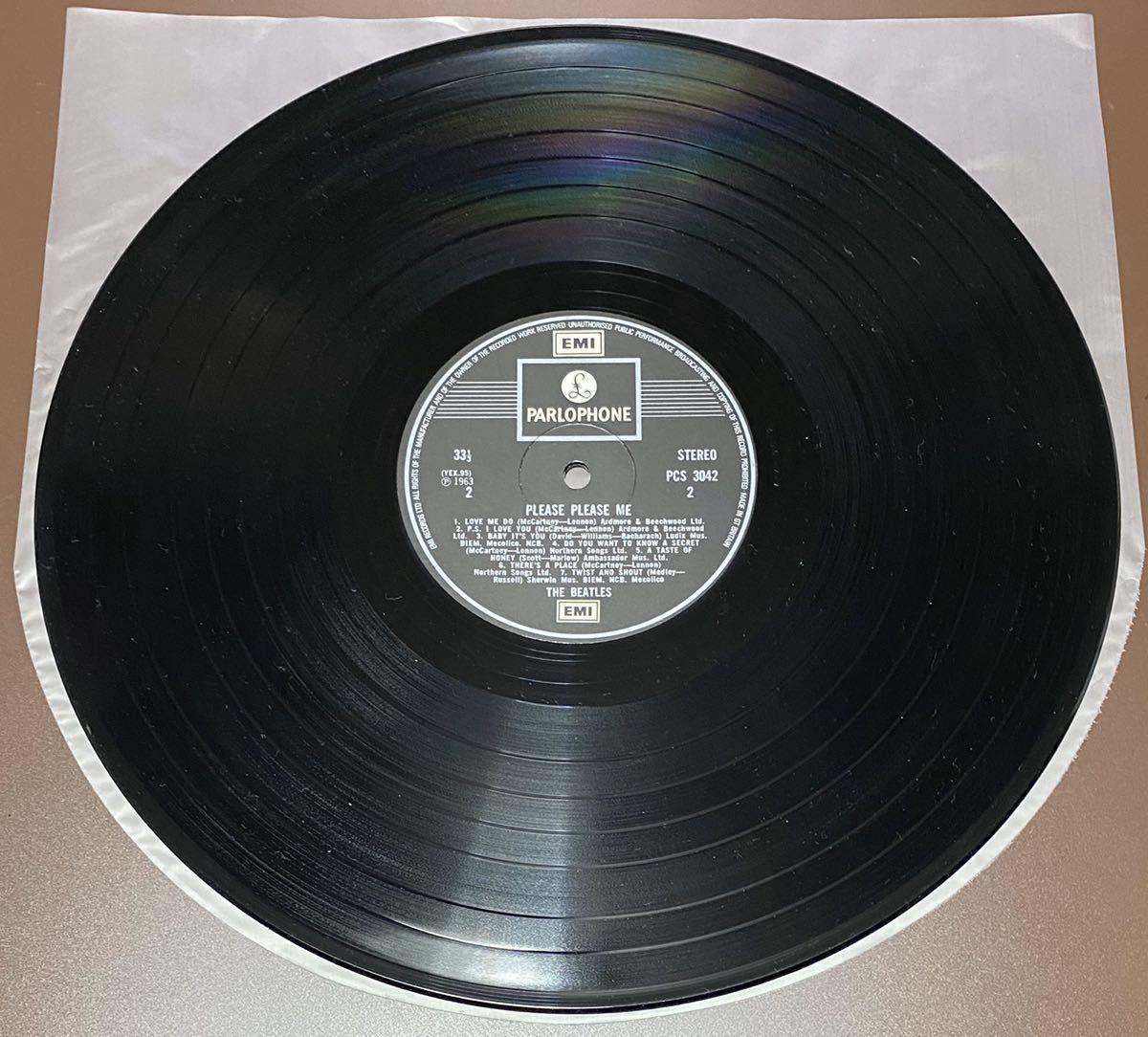 LP ビートルズ UK盤 THE BEATLES PLEASE PLEASE ME_画像7