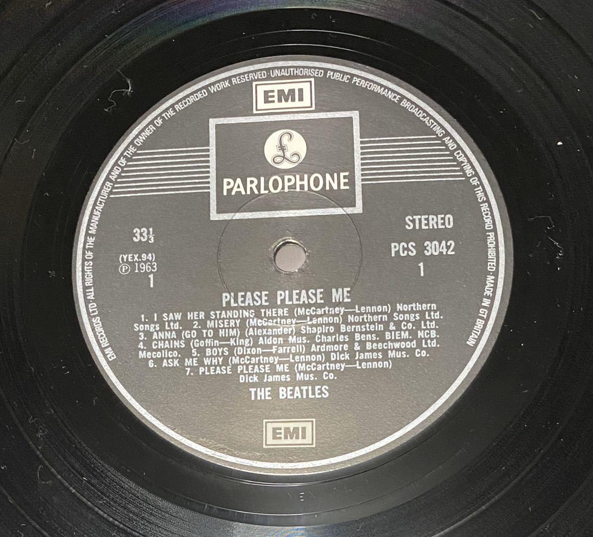 LP ビートルズ UK盤 THE BEATLES PLEASE PLEASE ME_画像6