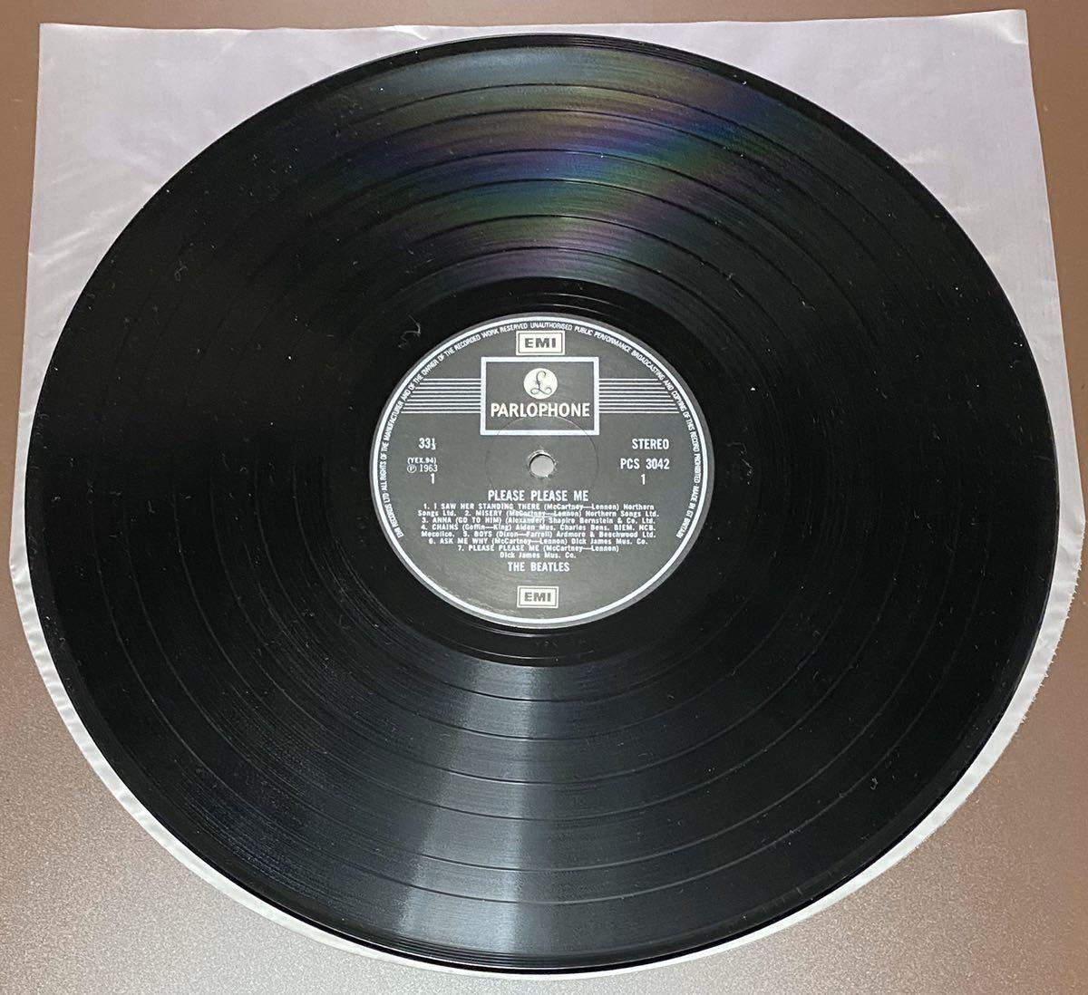 LP ビートルズ UK盤 THE BEATLES PLEASE PLEASE ME_画像5