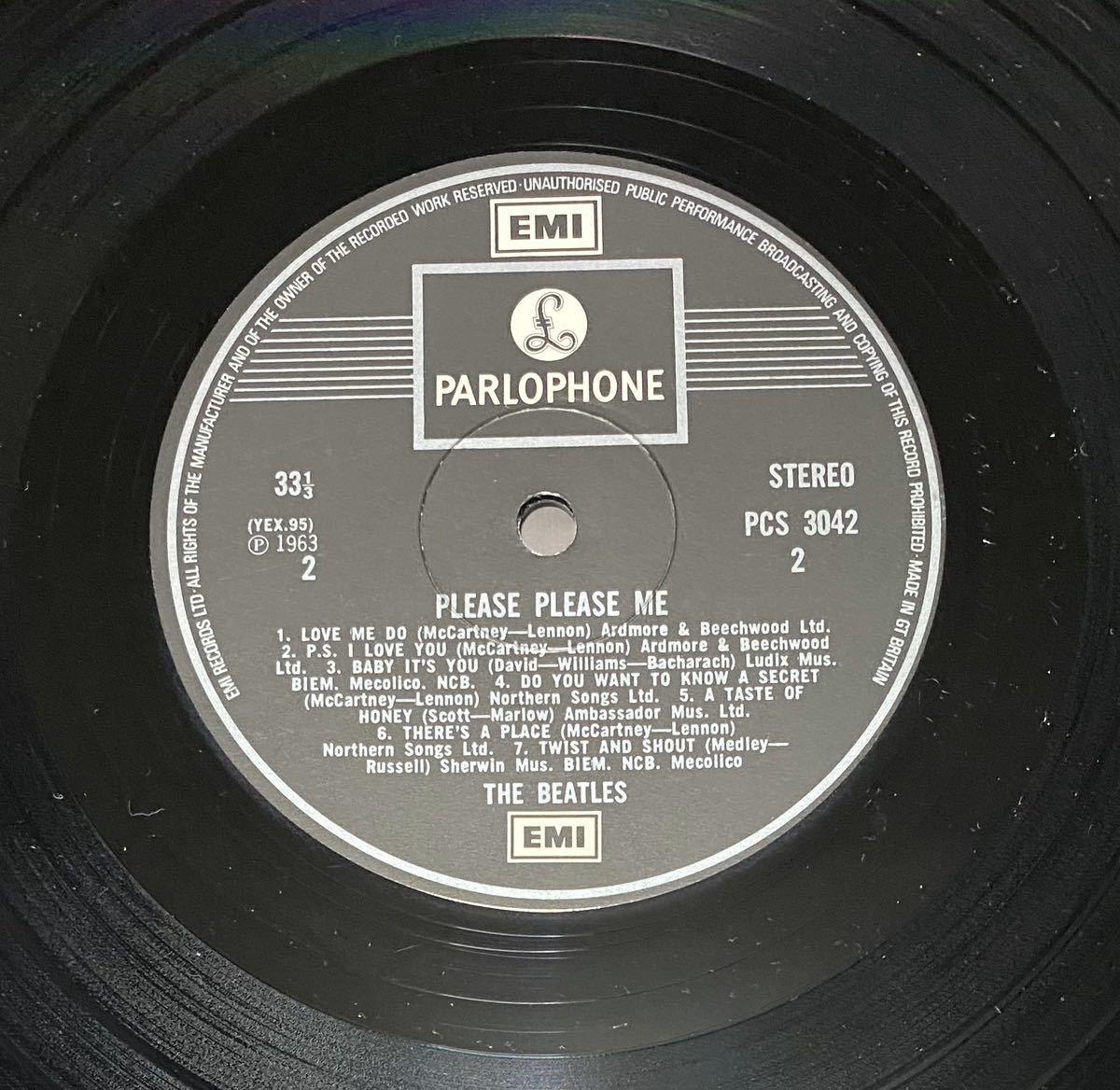LP ビートルズ UK盤 THE BEATLES PLEASE PLEASE ME_画像8