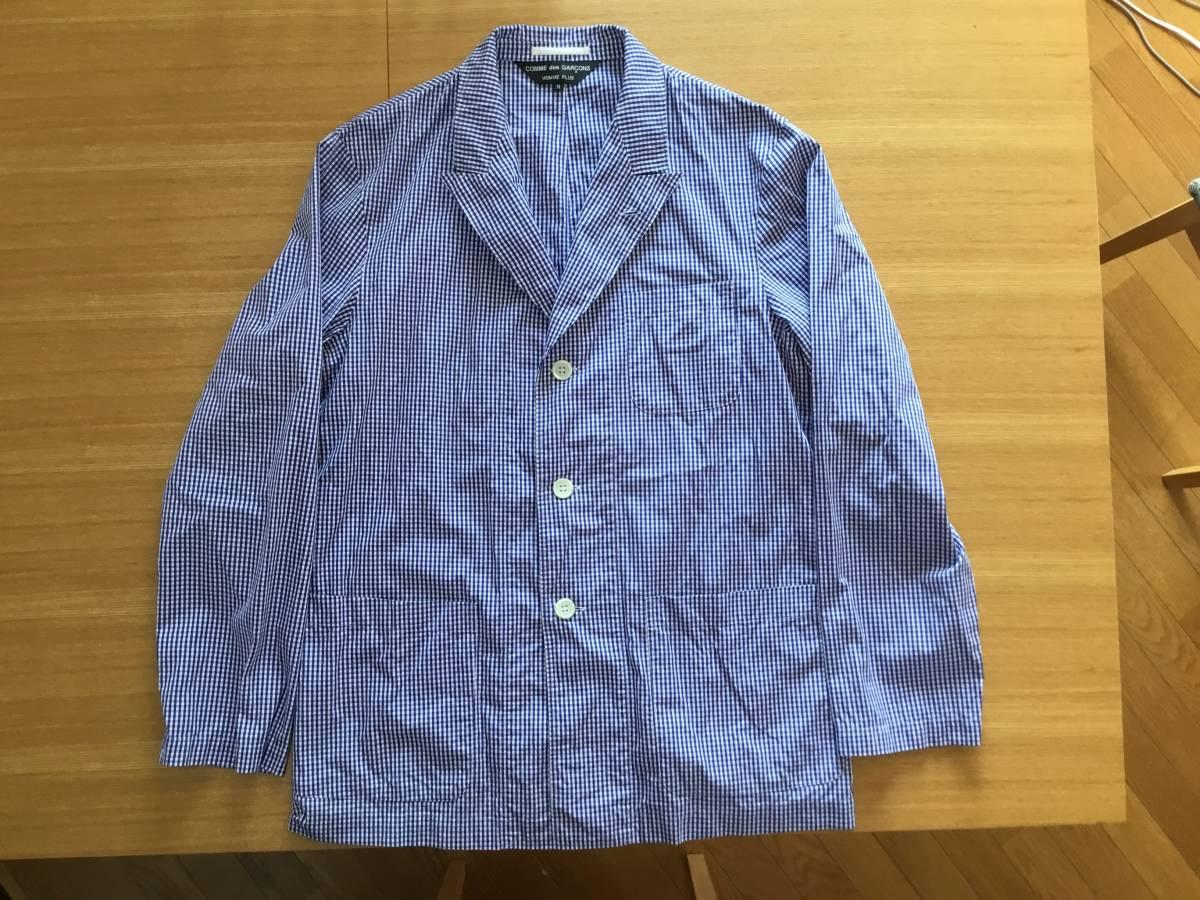 コムデギャルソンオムプリュス シャツジャケット 美品です。_画像3