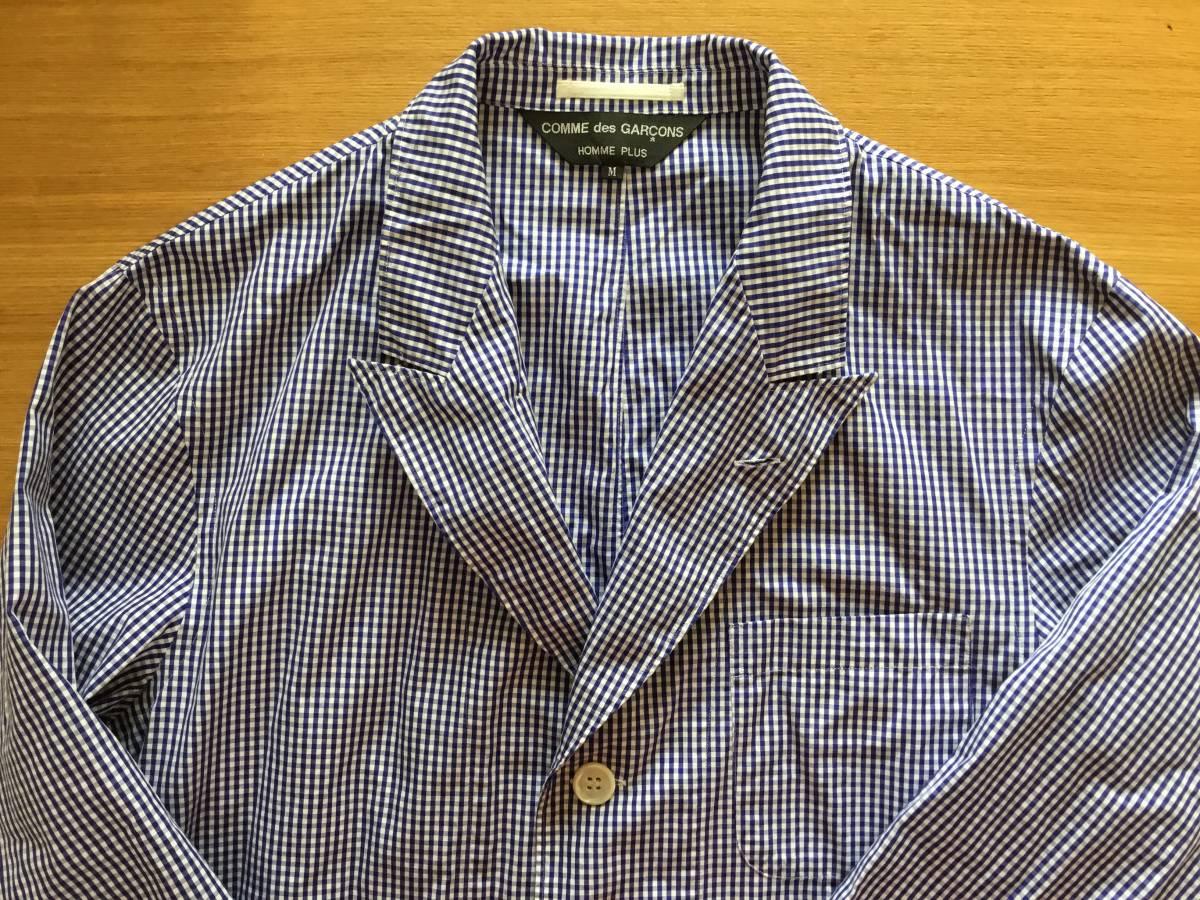 コムデギャルソンオムプリュス シャツジャケット 美品です。
