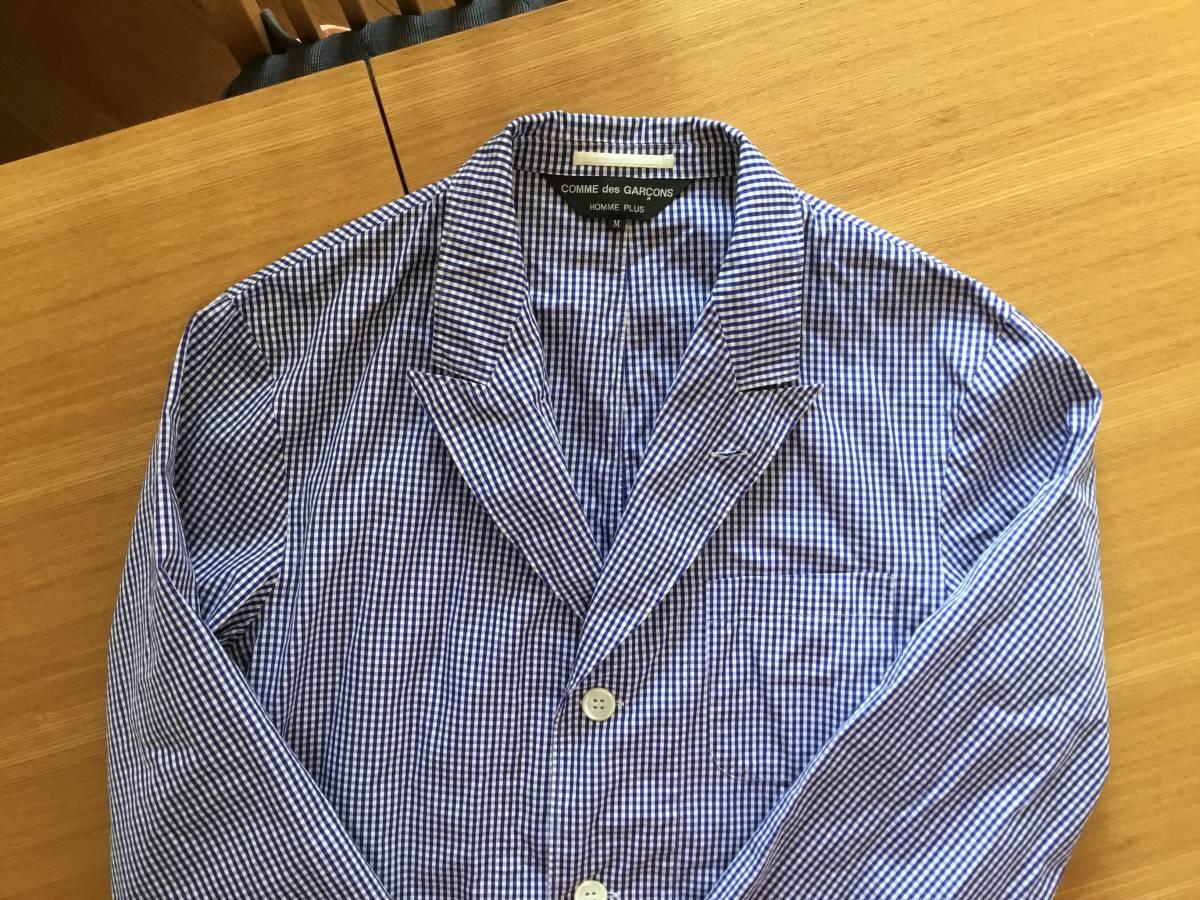 コムデギャルソンオムプリュス シャツジャケット 美品です。_画像2