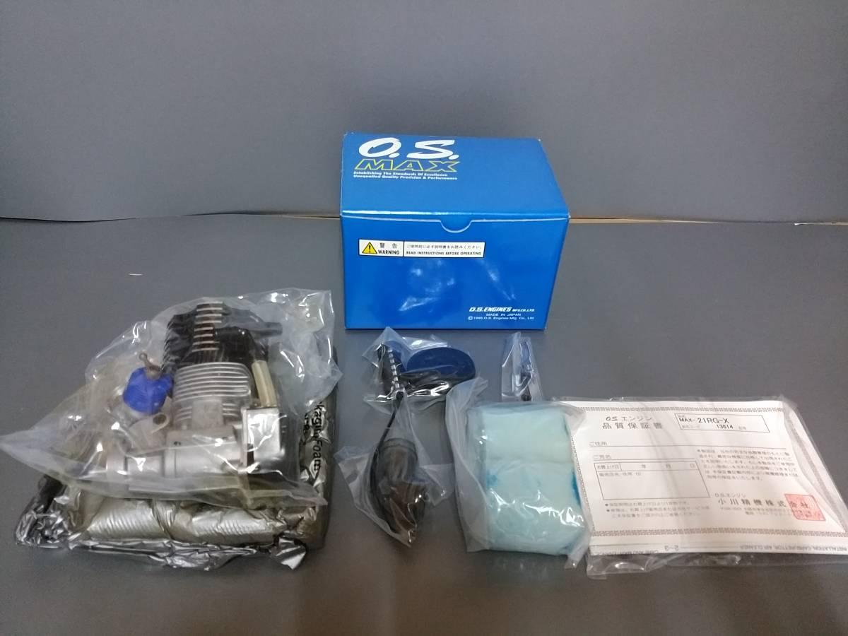 U37☆生産終了希少品☆未使用新品☆ O.S.ENGINE  1/8オフロードレーシング用エンジン MAX 21RG-X 13614_画像2
