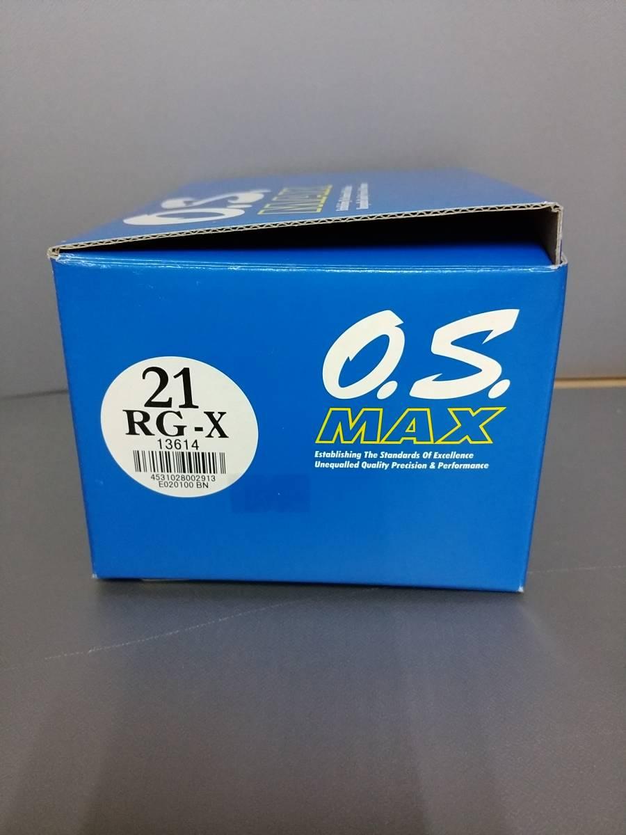 U37☆生産終了希少品☆未使用新品☆ O.S.ENGINE  1/8オフロードレーシング用エンジン MAX 21RG-X 13614_画像3