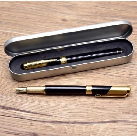 B572 レトロデザイン 万年筆 インクペン 0.5 ミリメートル ペン先 オフィス スクール 文具ギフト 高級ペン ビジネス_画像10