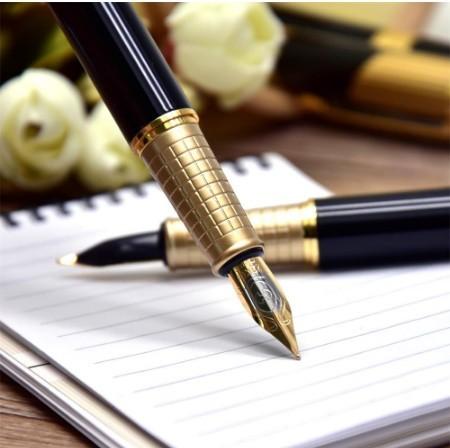 B572 レトロデザイン 万年筆 インクペン 0.5 ミリメートル ペン先 オフィス スクール 文具ギフト 高級ペン ビジネス_画像8