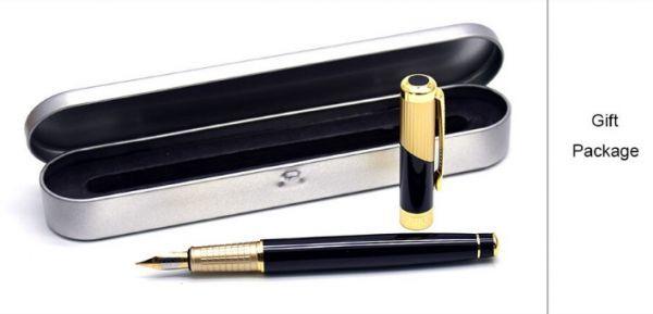 B572 レトロデザイン 万年筆 インクペン 0.5 ミリメートル ペン先 オフィス スクール 文具ギフト 高級ペン ビジネス_画像6