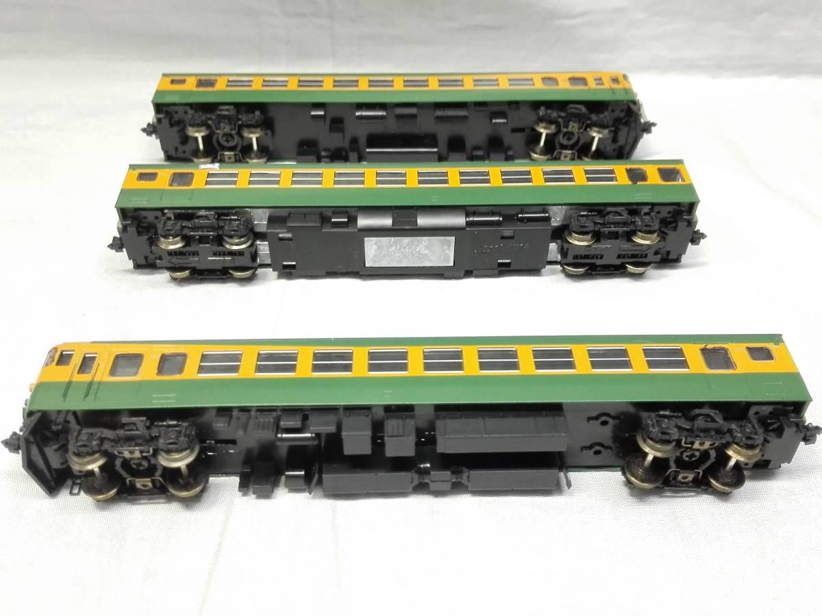 Nゲージ TOMIX 165系急行電車 (湘南色) 基本セットB 92238_画像6