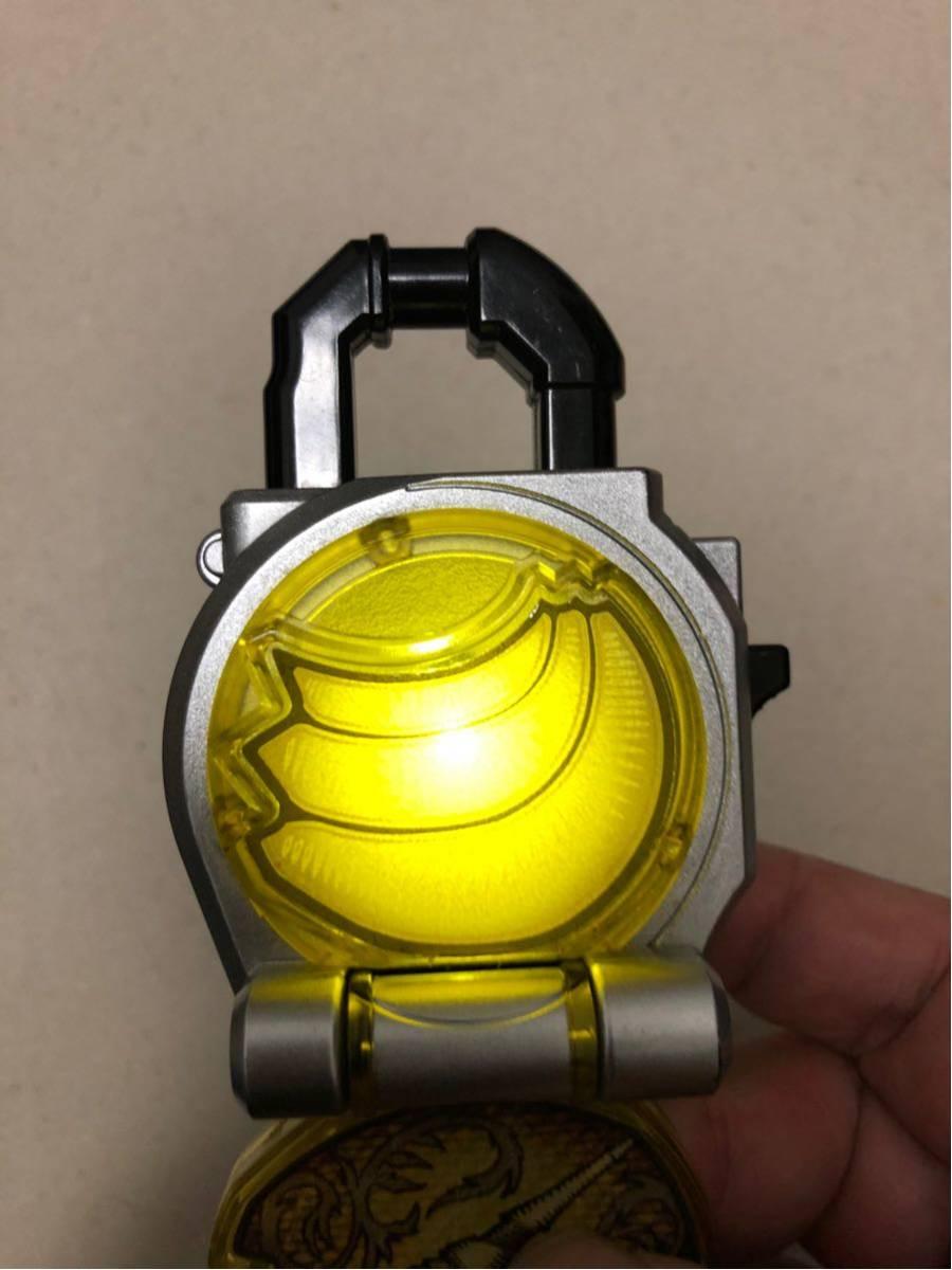 仮面ライダー鎧武 DX ロックシード バナナロックシード バロンフェイスプレート セット       バロン 仮面ライダーバロン