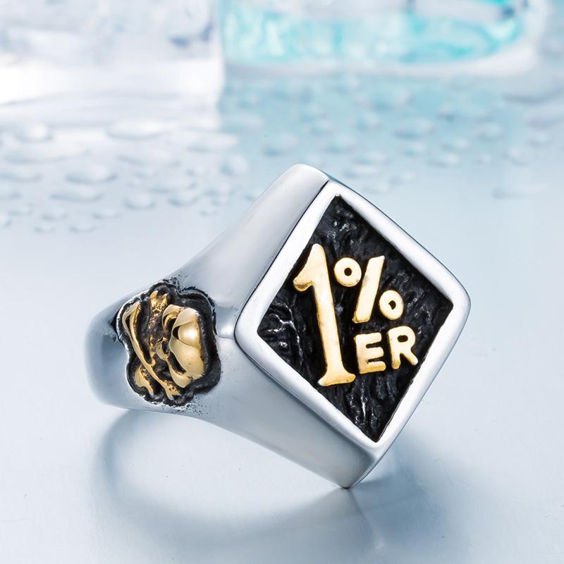 【特A品】【送料無料】※高級感 アクセサリー 鷲 ワシ リング (14号~30号) ステンレス メンズ 指輪 ゴールド 新品