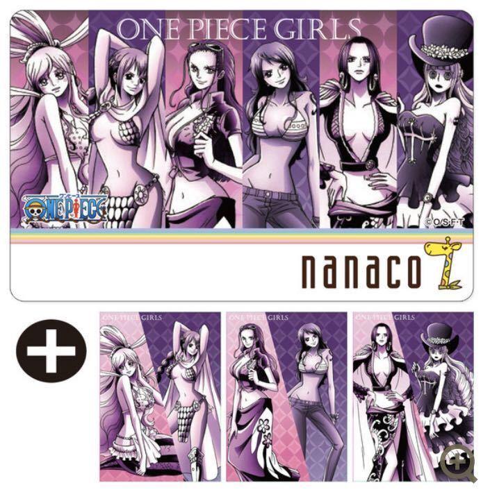 nanacoカード ONE PIECE ワンピース 3種セット_画像4