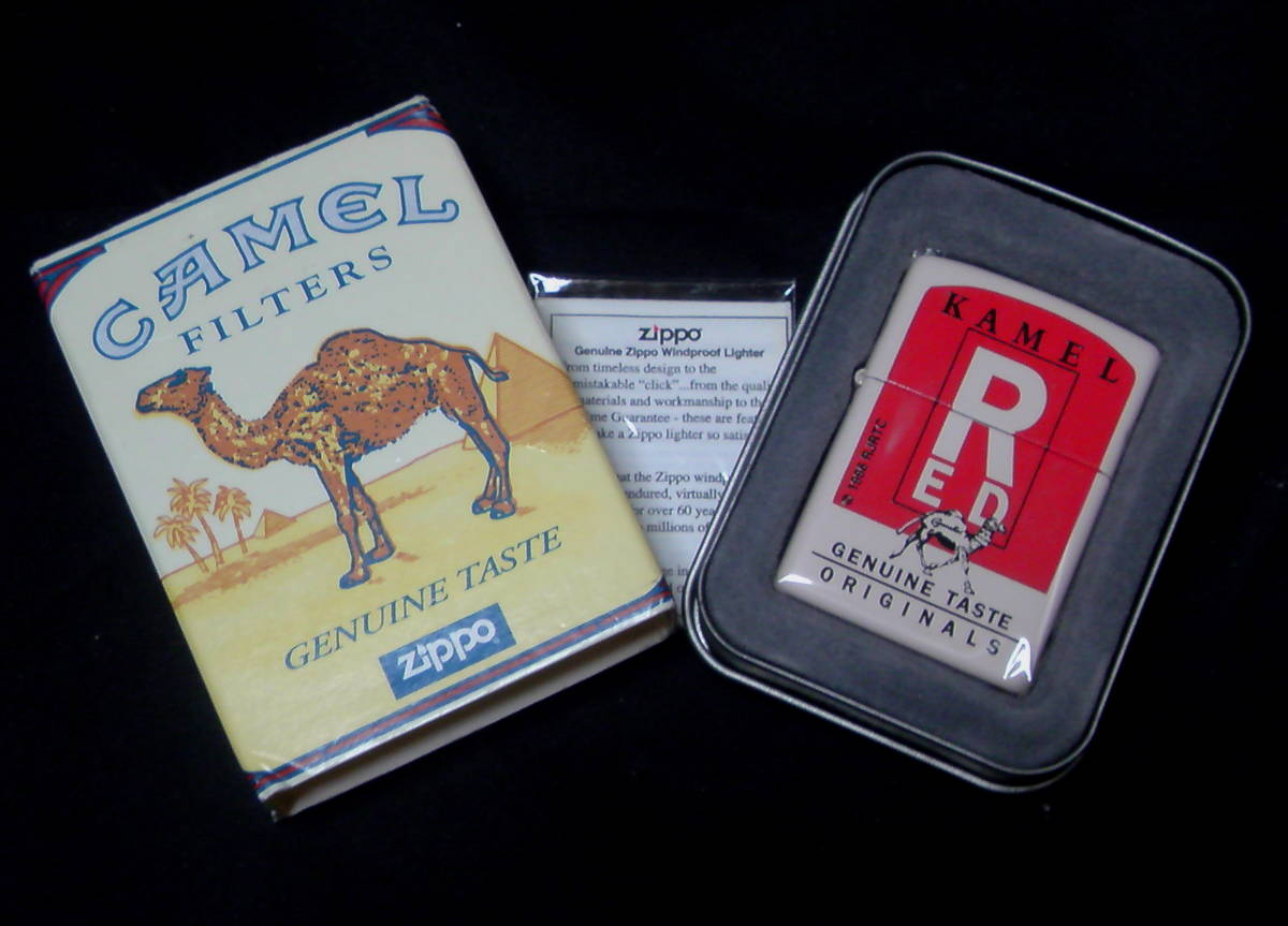 Zippo(ジッポー)CAMEL(キャメル)レッド(RED) 1996年