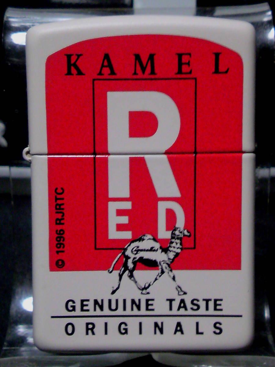 Zippo(ジッポー)CAMEL(キャメル)レッド(RED) 1996年_画像2