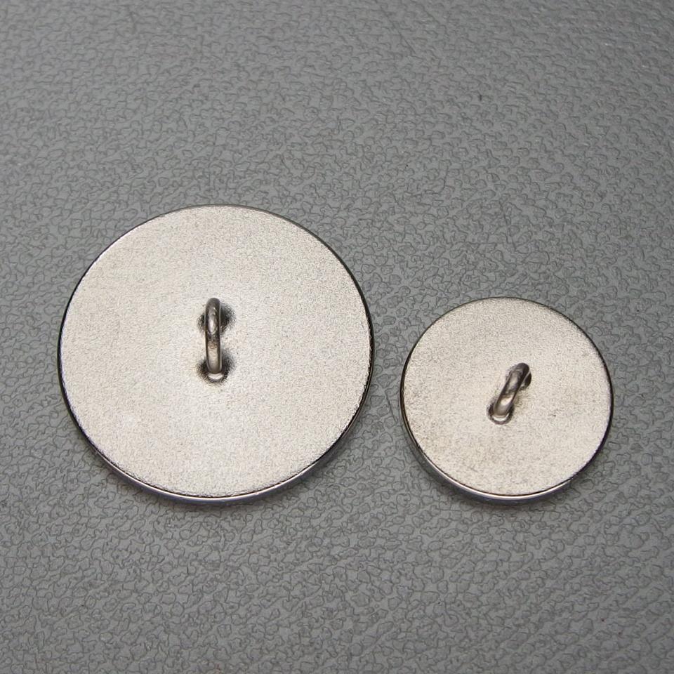 HERMES エルメス シルバー色 ボタン 大小サイズ&オードトワレ&オーデコロン セット 純正箱 袋付き  _画像6