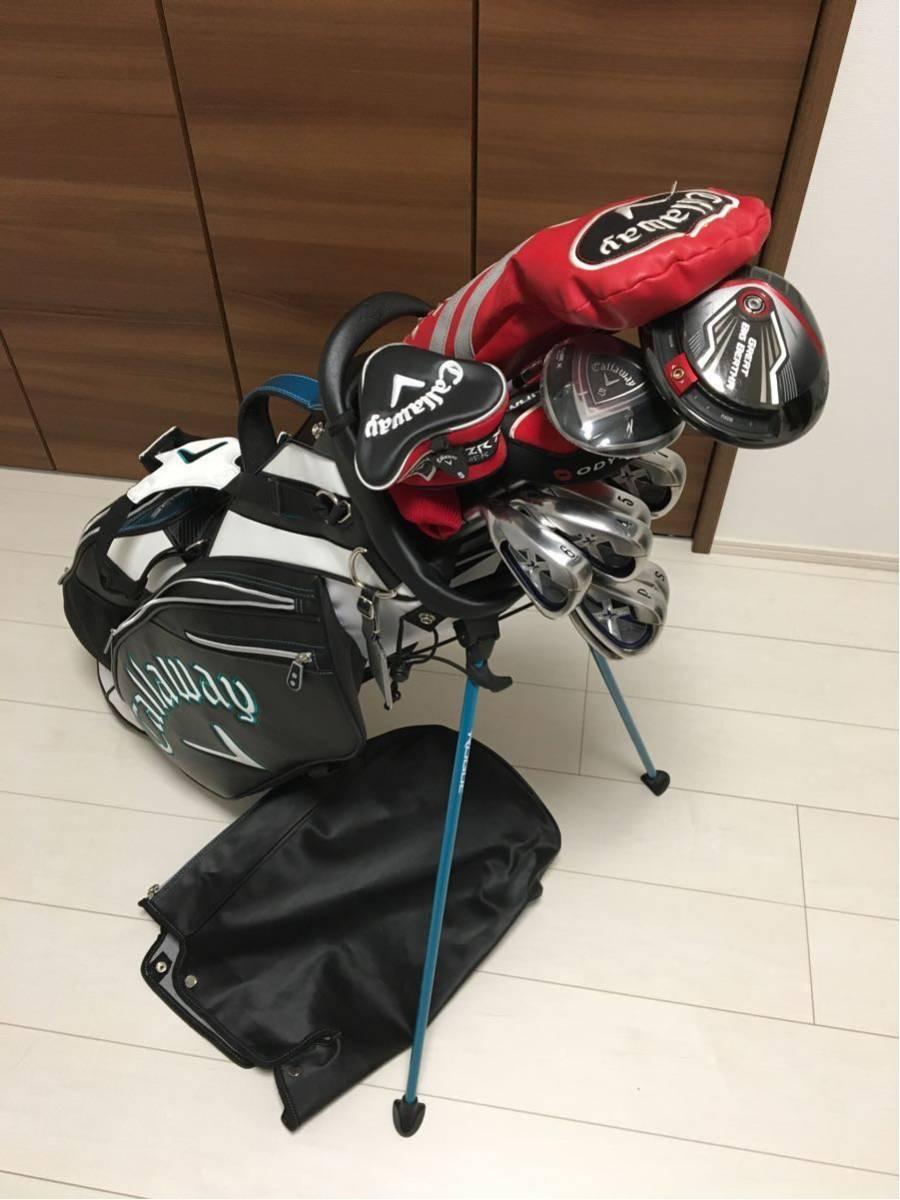 レフティ 左利き 左用 美品 新品あり 超豪華 キャロウェイ ゴルフセット ゴルフクラブ
