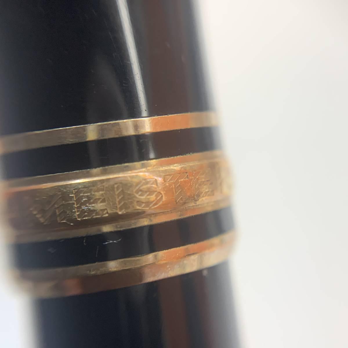 ●(J173) MONTBLANC モンブラン MEISTERSTUCK マイスターシュテック ボールペン 万年筆 K14 3本セット_画像5