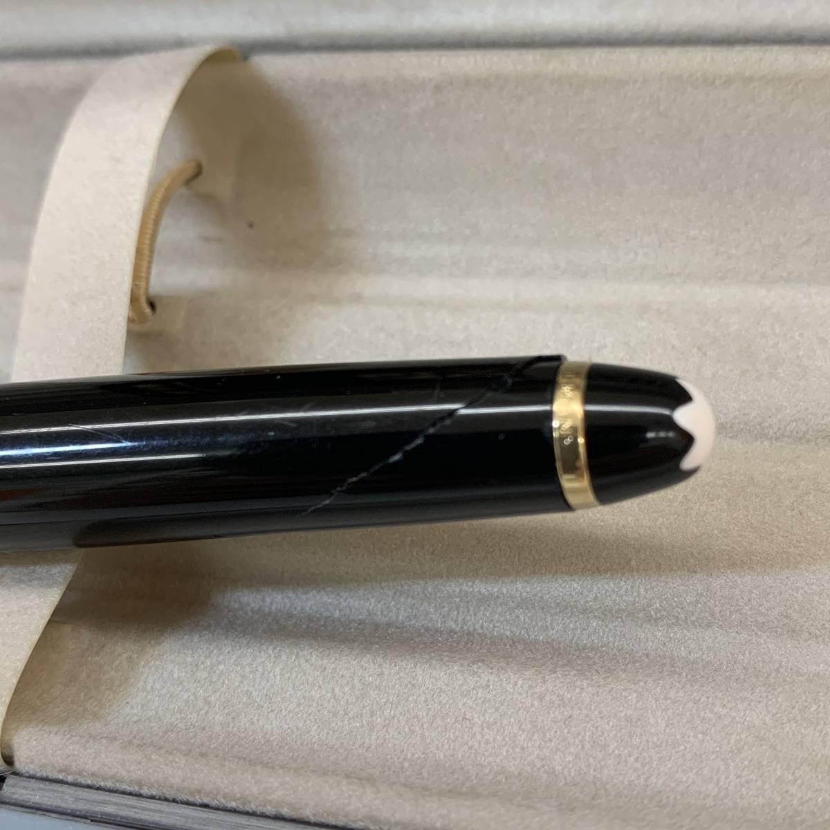 ●(J173) MONTBLANC モンブラン MEISTERSTUCK マイスターシュテック ボールペン 万年筆 K14 3本セット_画像10