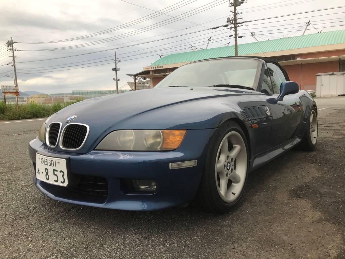 「BMW Z3 オートマ 渋滞にも楽ちん 平成11年モデル 2000cc パワーあり 車検約一年残 純正トノカバー 社外新品幌おまけ付き 機関良好」の画像2
