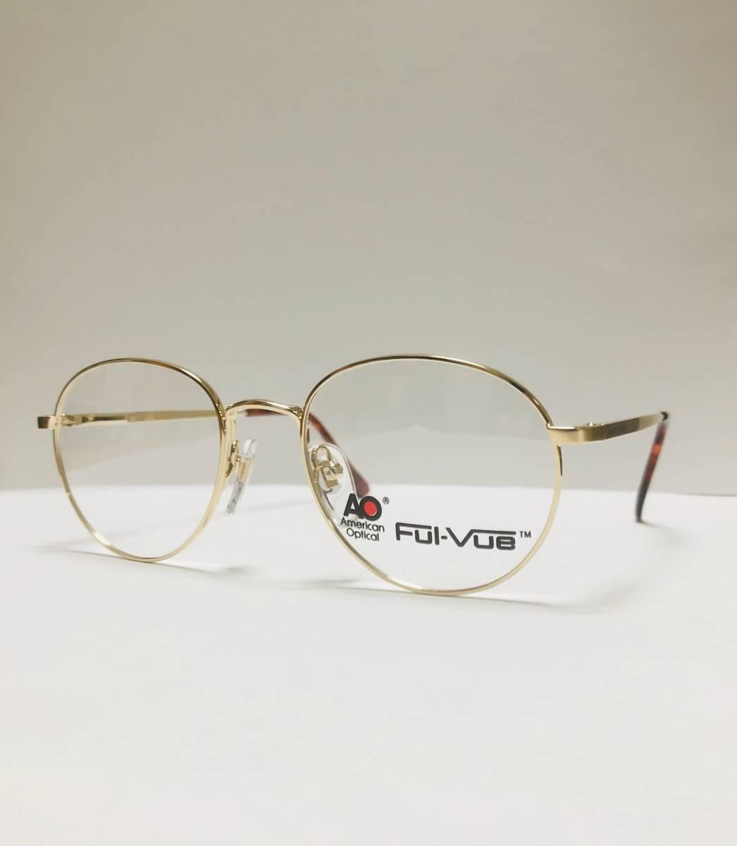 新品箱付】 20K金 アメリカンオプティカル 80年代 AO American Optical メガネ 米国ブランド_画像3