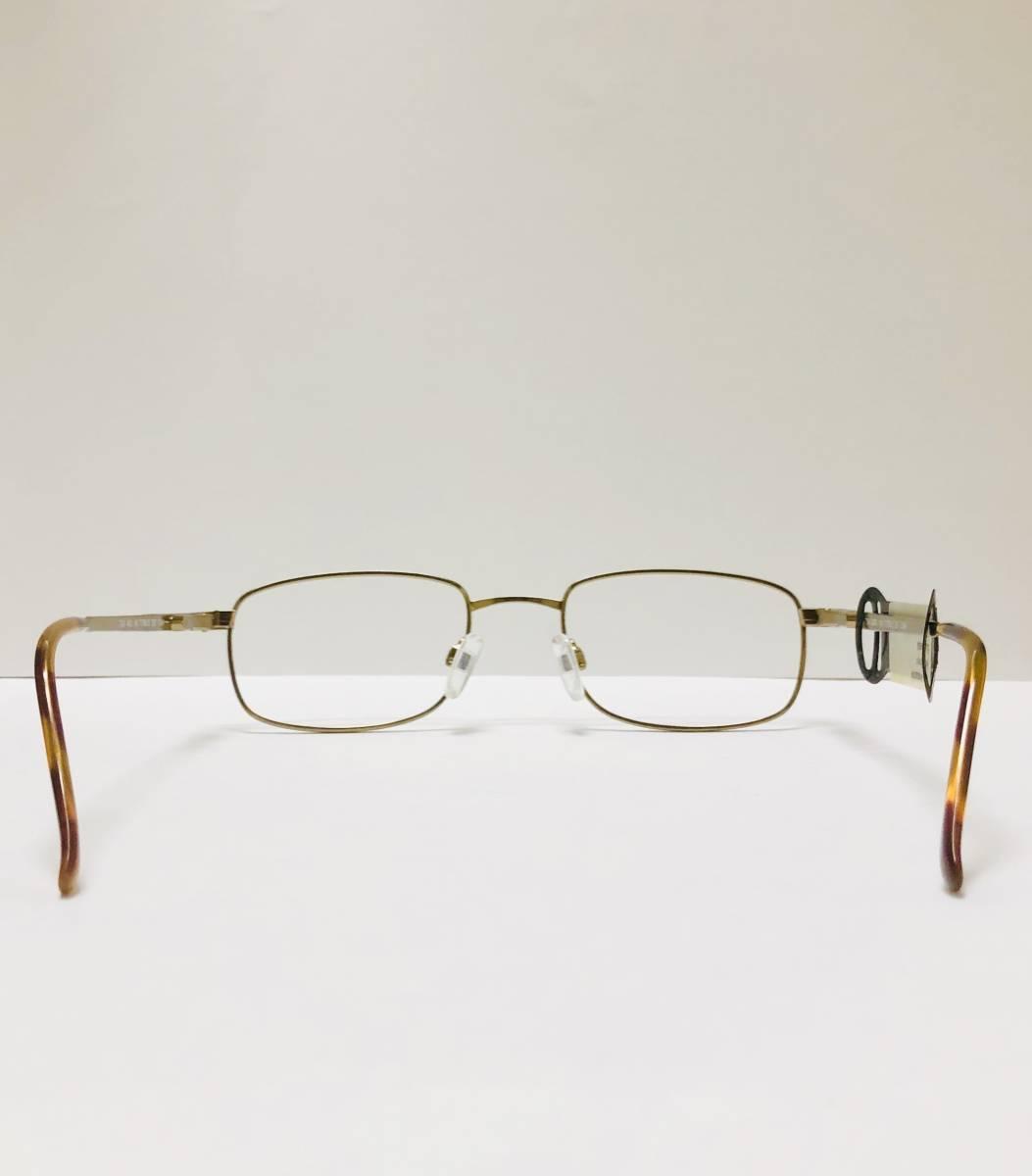 【1980年代・新品】 TITMUS 米国製 希少 鼈甲柄 タグ付き メガネ ビンテージ ヴィンテージ_画像7