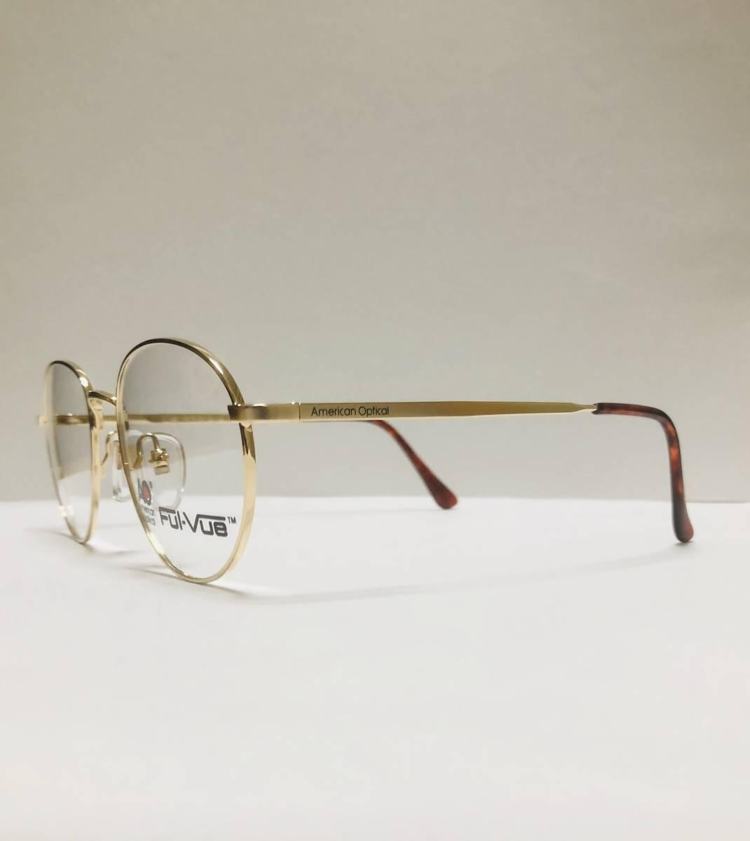 新品箱付】 20K金 アメリカンオプティカル 80年代 AO American Optical メガネ 米国ブランド_画像4