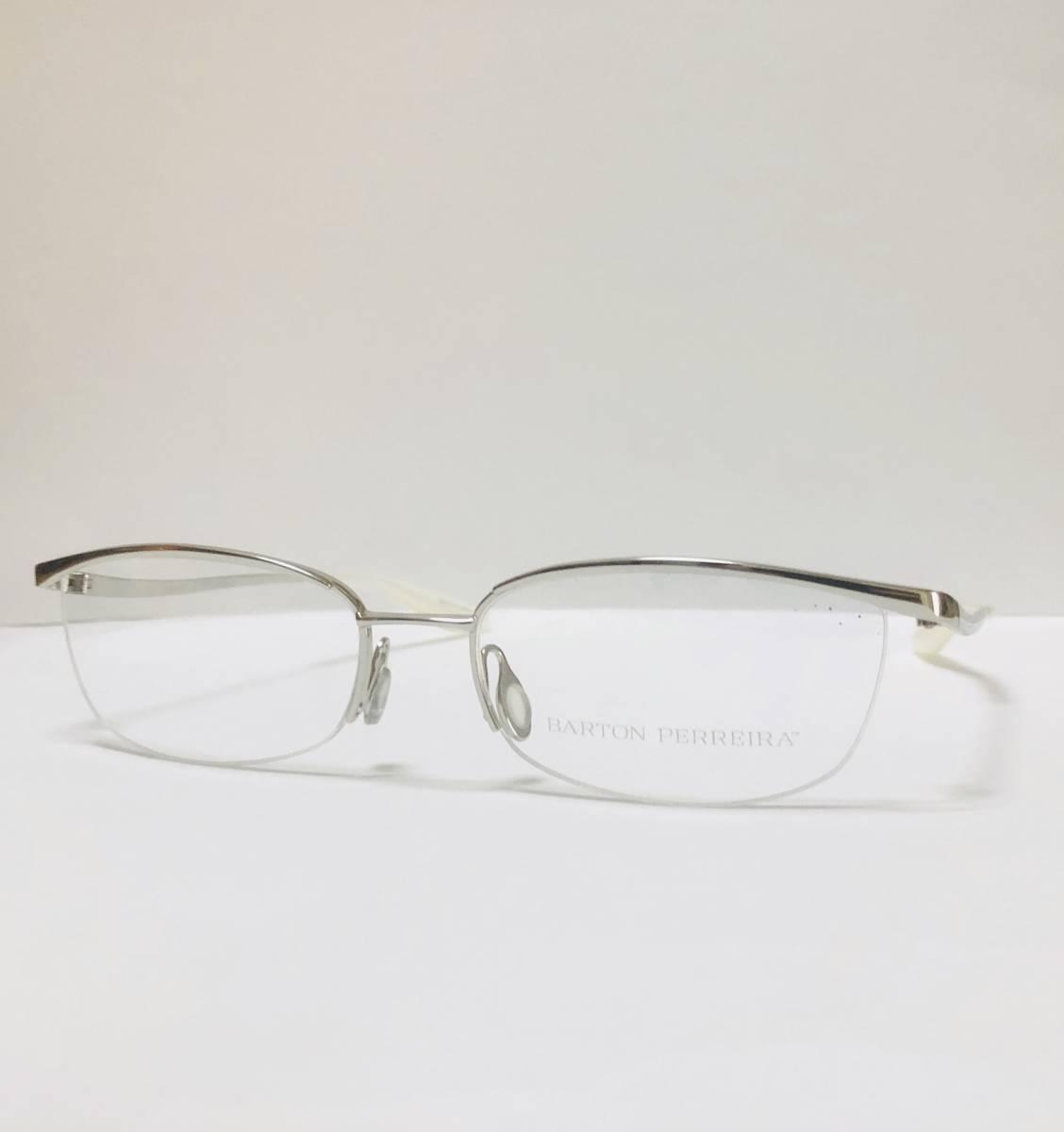 定価85800円 新品) 上流階級 バートンペレイラ ミア Barton Perreira 極上品 純正メガネ 付属品付き 日本製 米国ブランド_画像2
