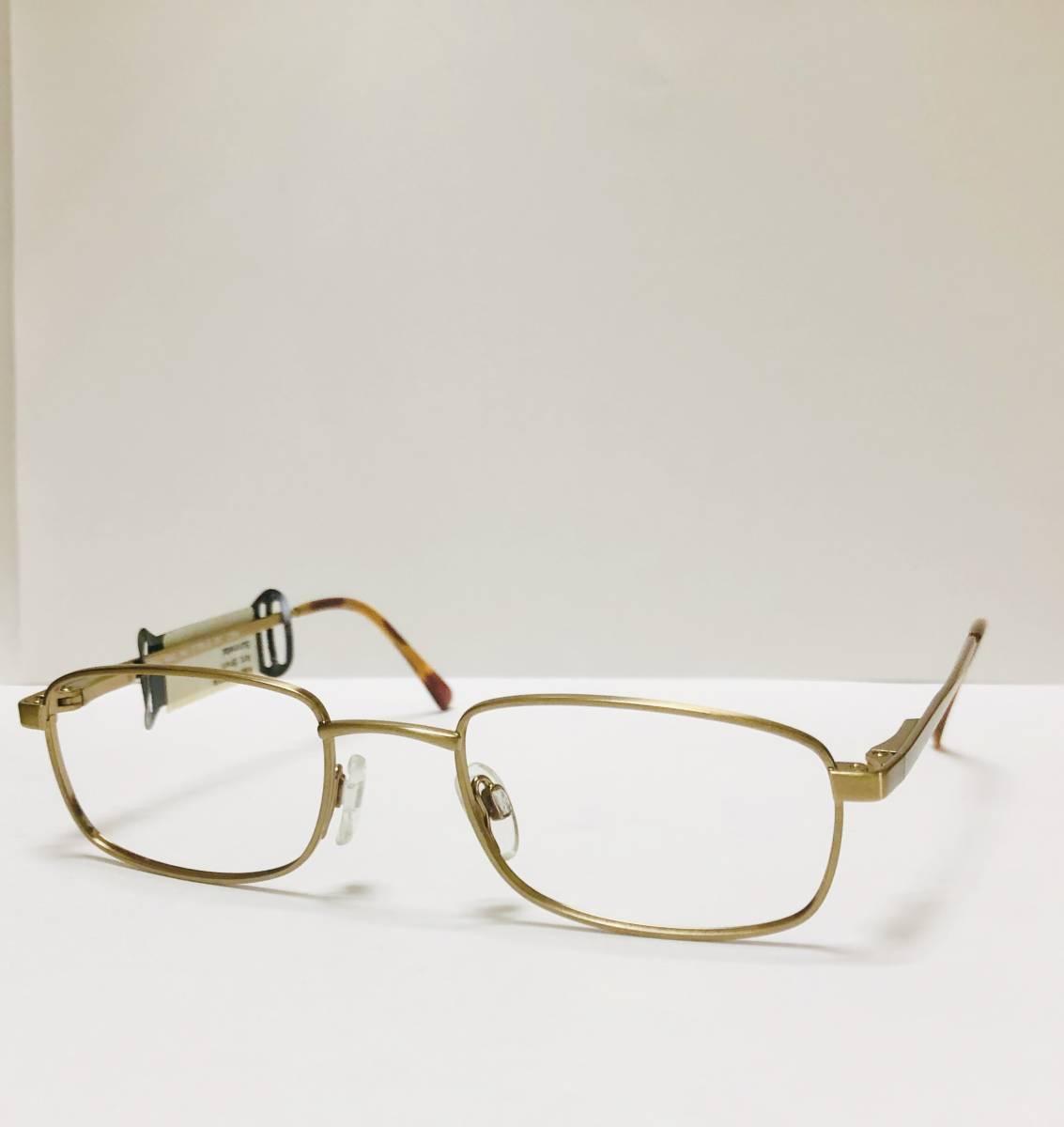 【1980年代・新品】 TITMUS 米国製 希少 鼈甲柄 タグ付き メガネ ビンテージ ヴィンテージ_画像2