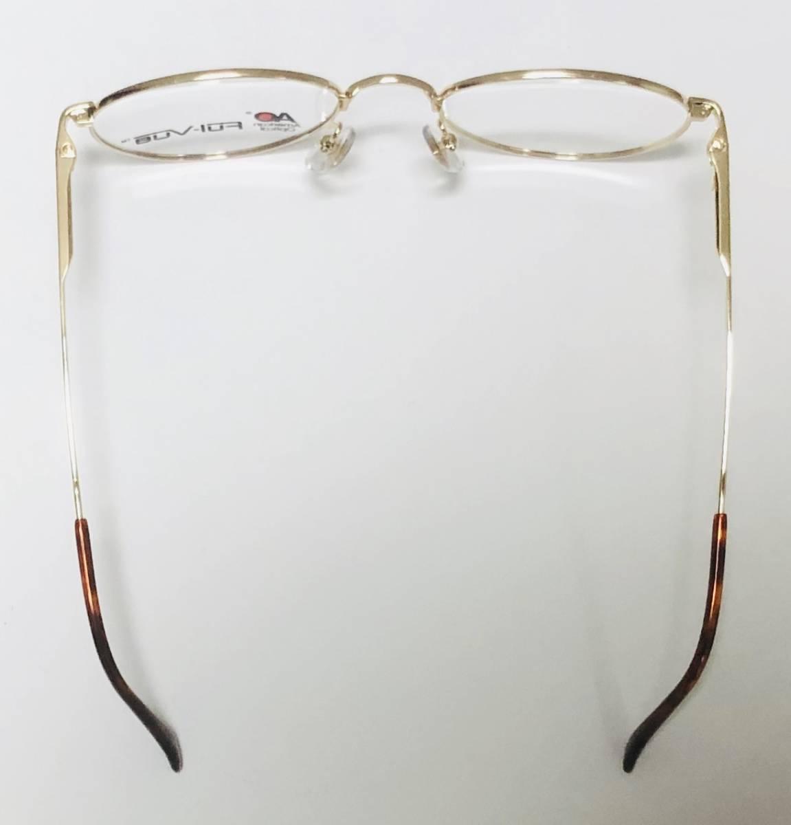 新品箱付】 20K金 アメリカンオプティカル 80年代 AO American Optical メガネ 米国ブランド_画像9