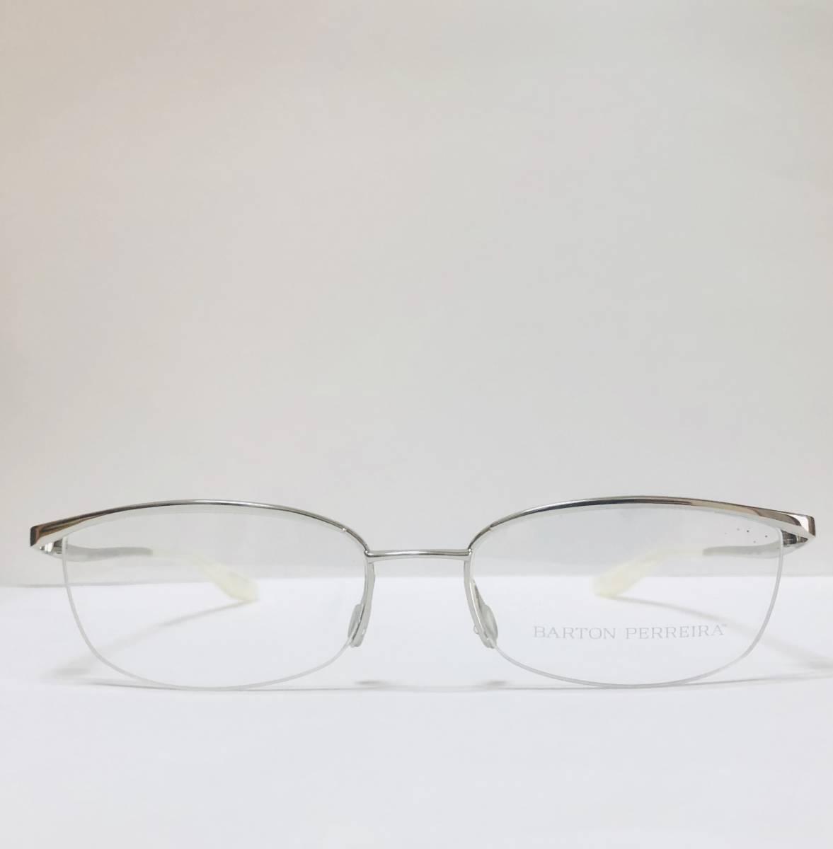 定価85800円 新品) 上流階級 バートンペレイラ ミア Barton Perreira 極上品 純正メガネ 付属品付き 日本製 米国ブランド_画像1