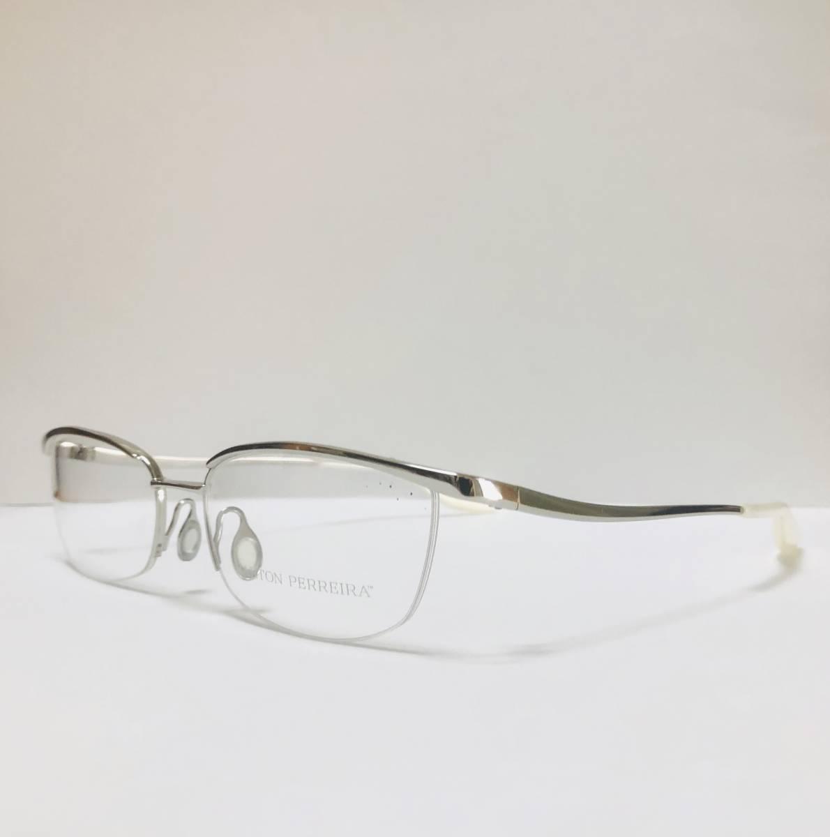 定価85800円 新品) 上流階級 バートンペレイラ ミア Barton Perreira 極上品 純正メガネ 付属品付き 日本製 米国ブランド_画像3