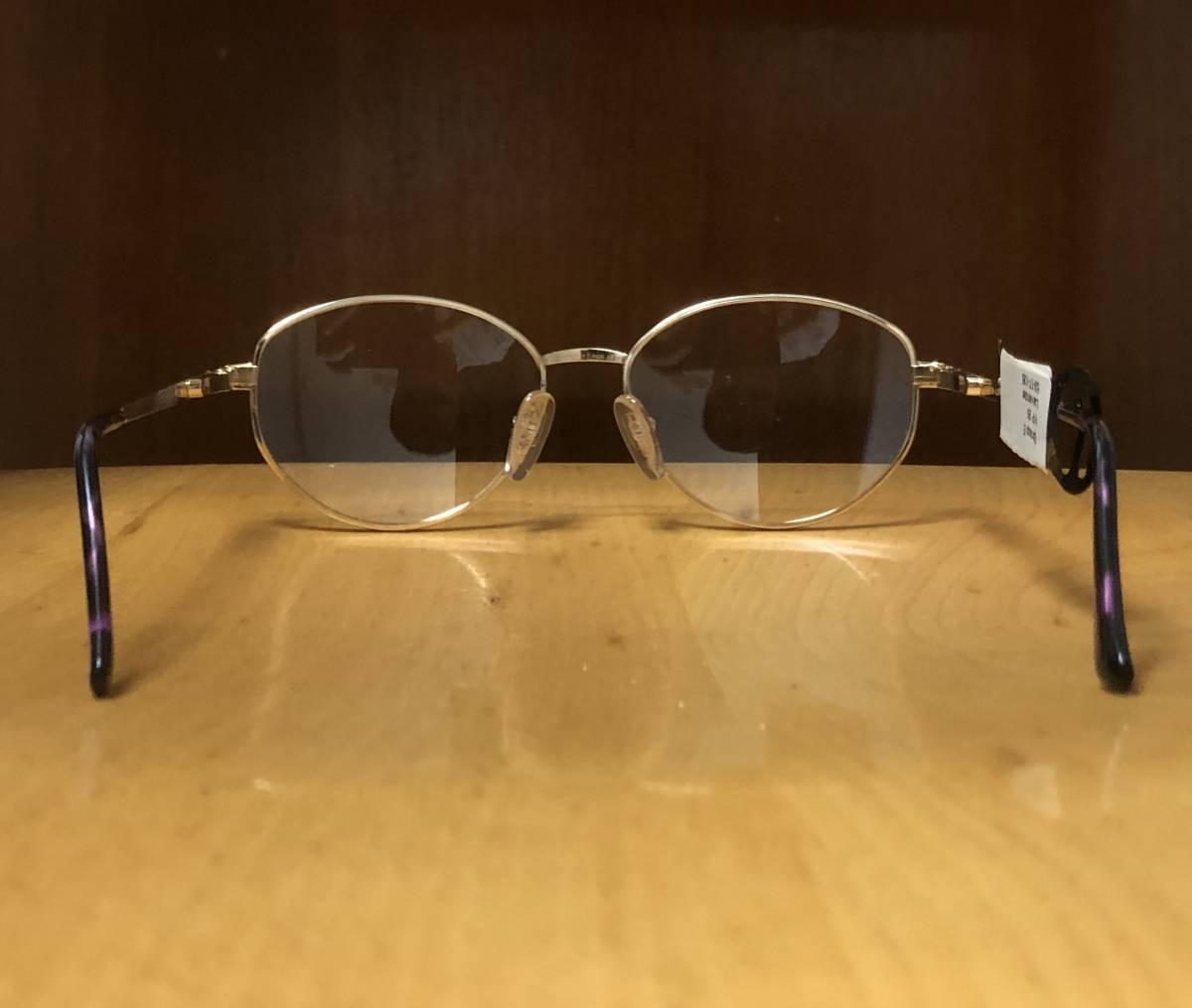 【1980年代/新品】 宝石柄 ピンク紫 アメリカンオプティカル AO American Optical メガネ 米国ブランド ビンテージ / ヴィンテージ_画像8