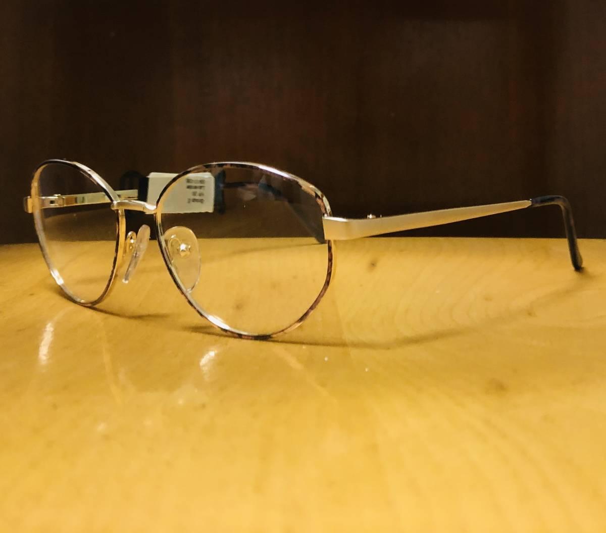 【1980年代/新品】 宝石柄 ピンク紫 アメリカンオプティカル AO American Optical メガネ 米国ブランド ビンテージ / ヴィンテージ_画像4