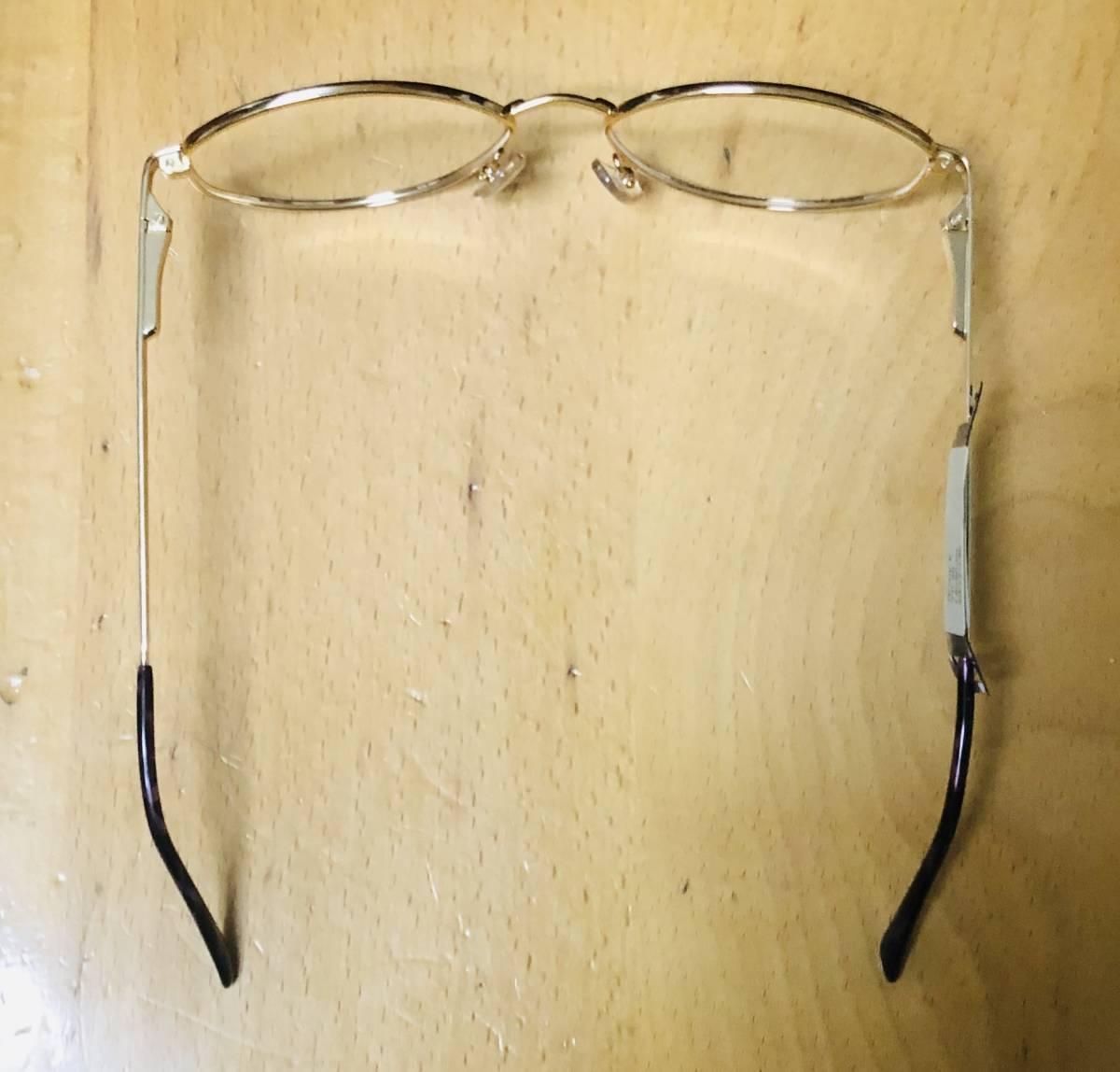 【1980年代/新品】 宝石柄 ピンク紫 アメリカンオプティカル AO American Optical メガネ 米国ブランド ビンテージ / ヴィンテージ_画像7
